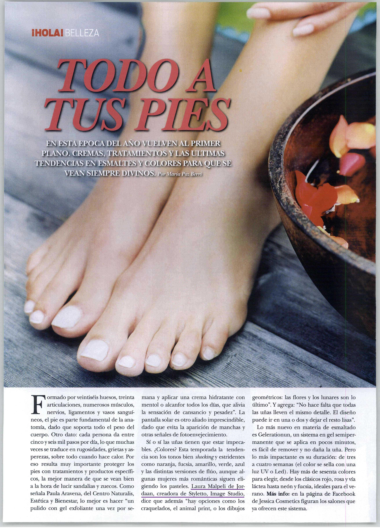Revista Hola nov 2012