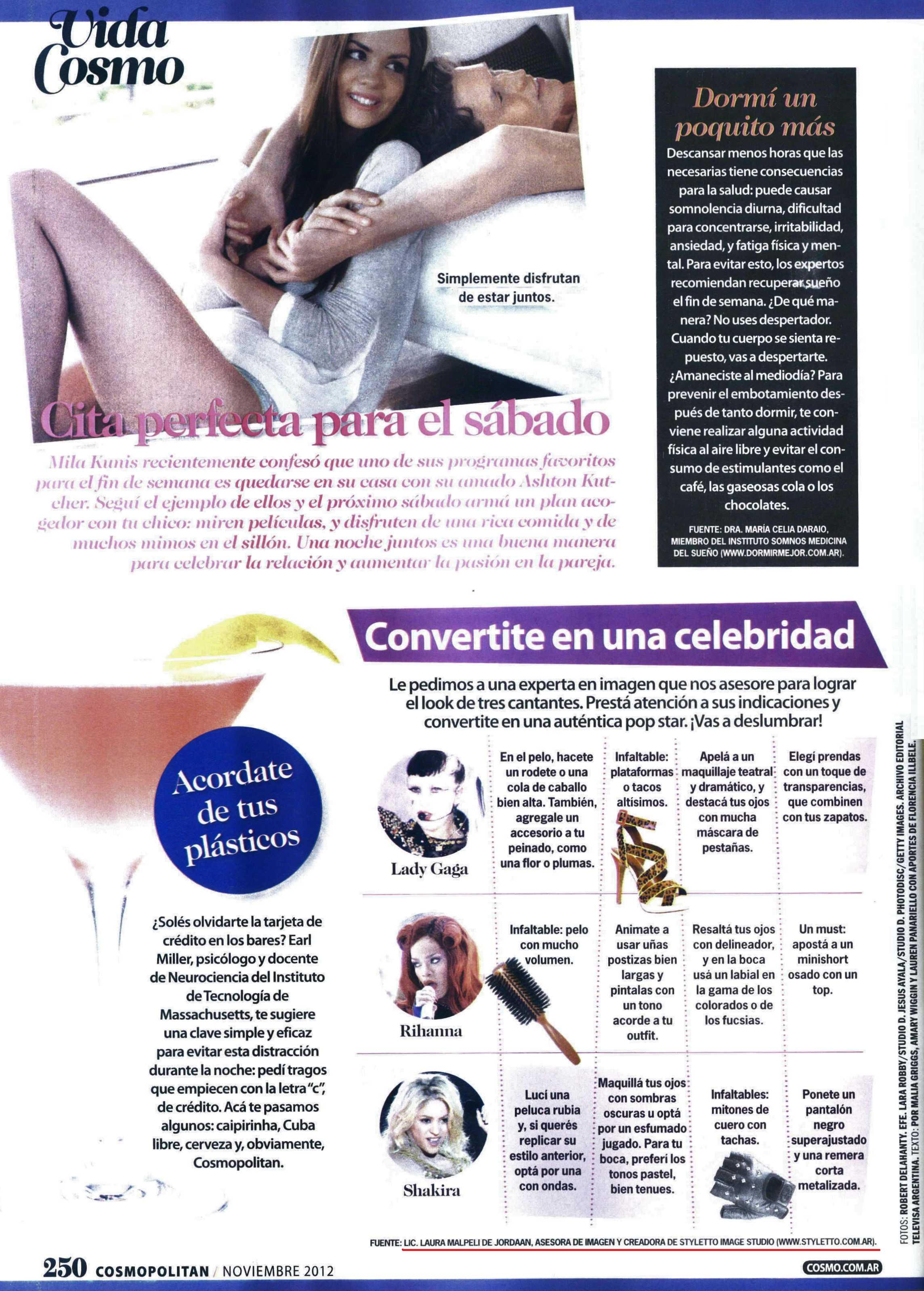 7 11 2012 Cosmo pag. 250