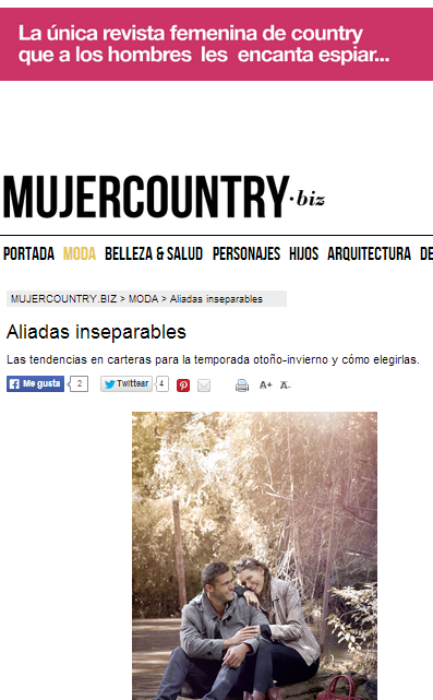 Mujer Country marzo 2014